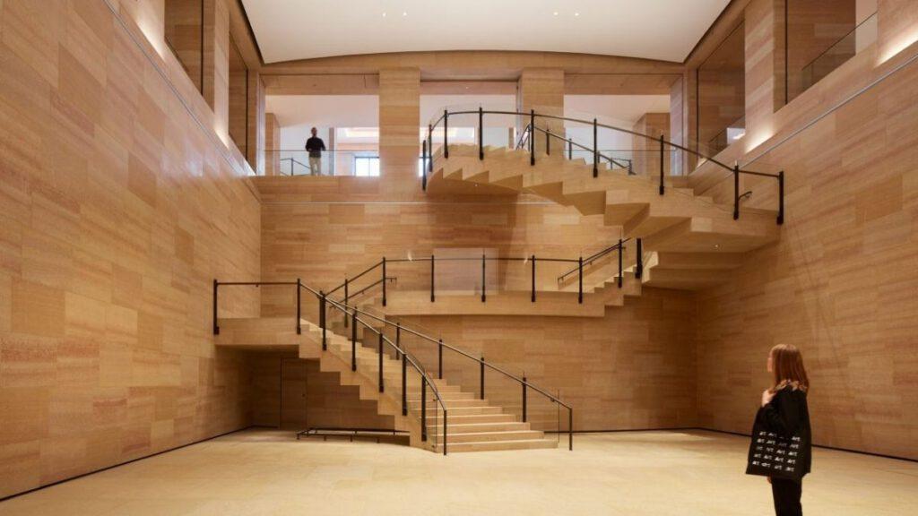 Das Philadelphia Museum of Arts, nach Plänen von Frank Gehry renoviert