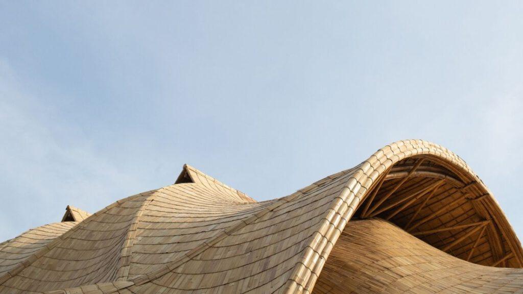 Haupt-Baumaterial von The Arc ist Bambus