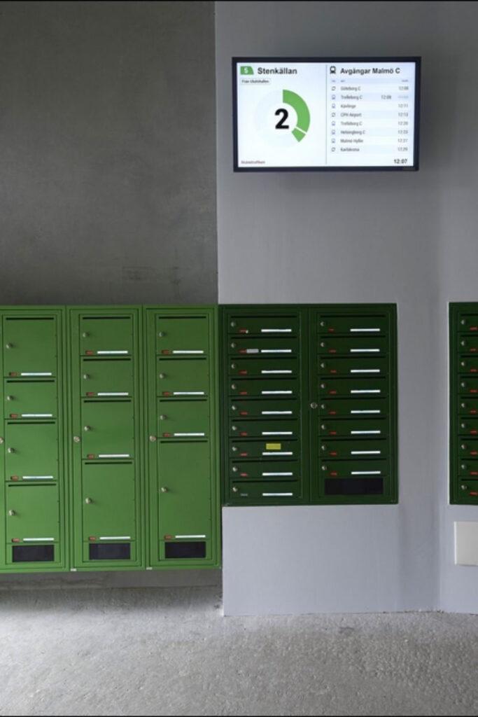 große Postboxen