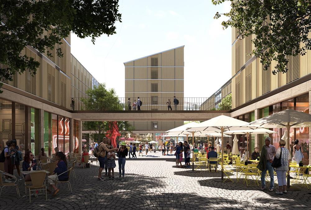 Nach den Winterspielen 2026 wird das Olympische Dorf zum attraktiven neuen Stadtquartier. (Bild: SOM / Pixelflakes)
