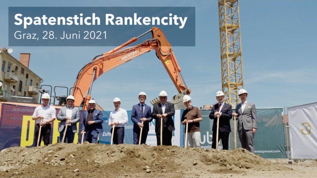 Rankencity Graz - Spatenstich