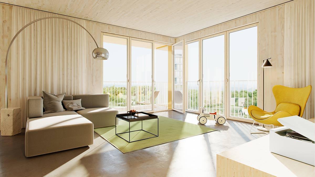 Wohnraum, Woodscraper, Wolfsburg