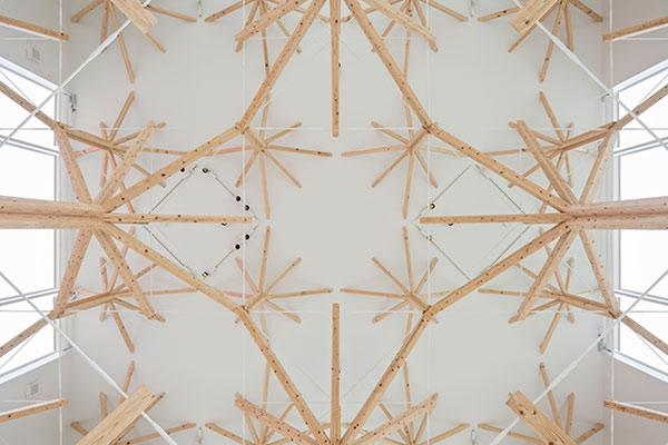 Fraktale Struktur, Agri Chapel, Yu Momoeda
