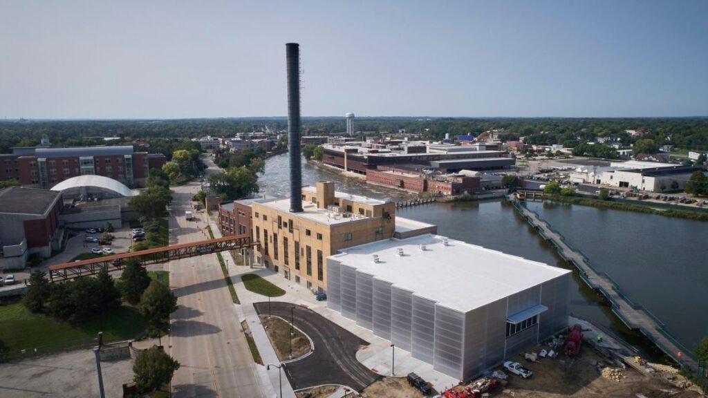 Powerhouse von Studio Gang, ehemaliges Kraftwerk in Beloit in Wisconsin