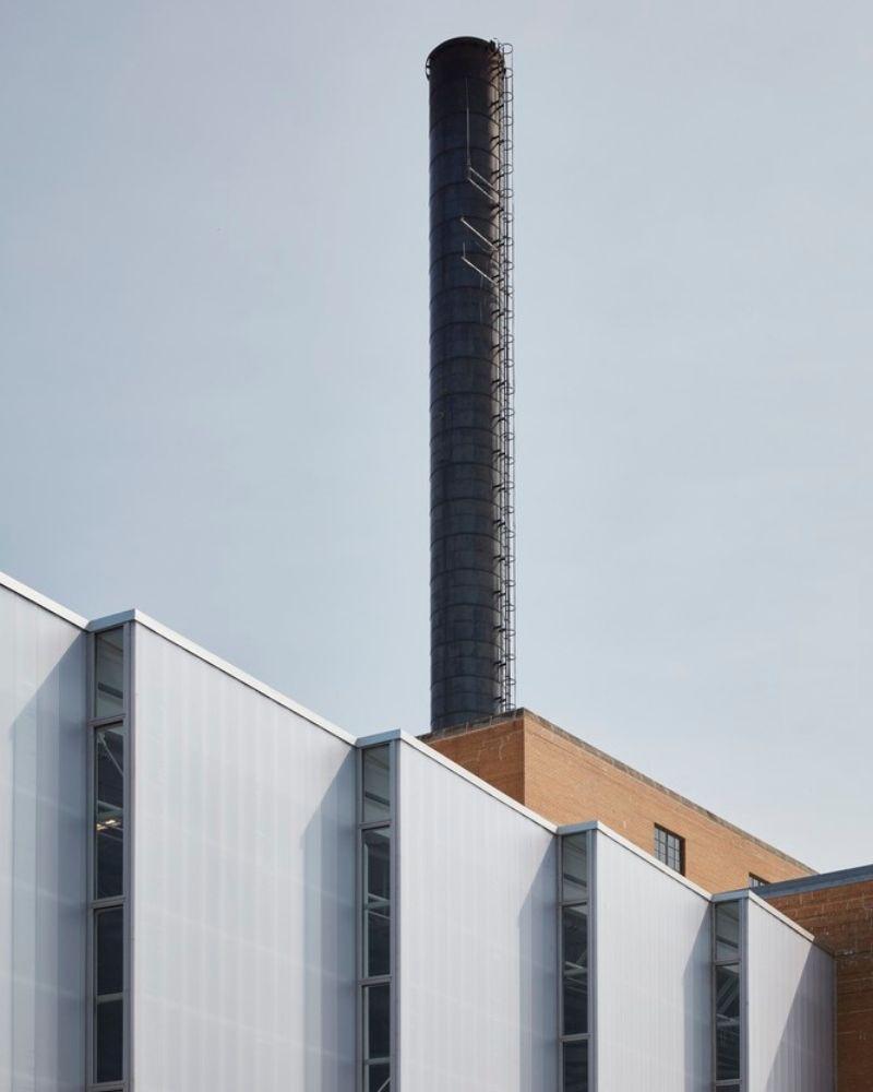 ehemaliges Blackhawk Generating Station von Wisconsin Power and Light erbaut, als Powerhouse von Studio Gang umfunktioniert