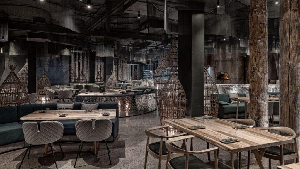 Tunguska Restaurant by LEFT design