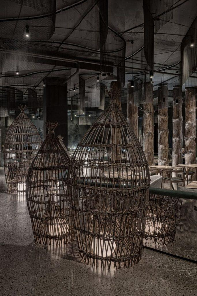 Fish traps as a style element