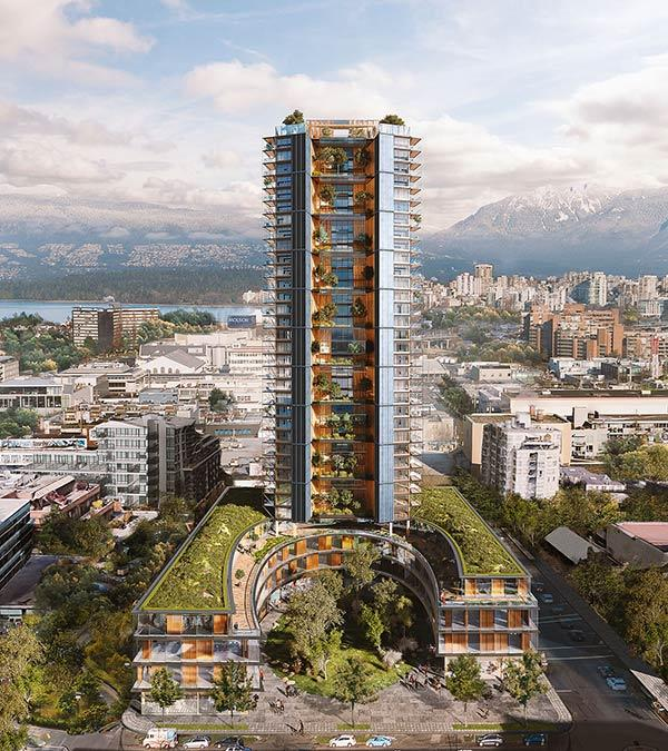 Canada's Earth Tower, Perkins + Will