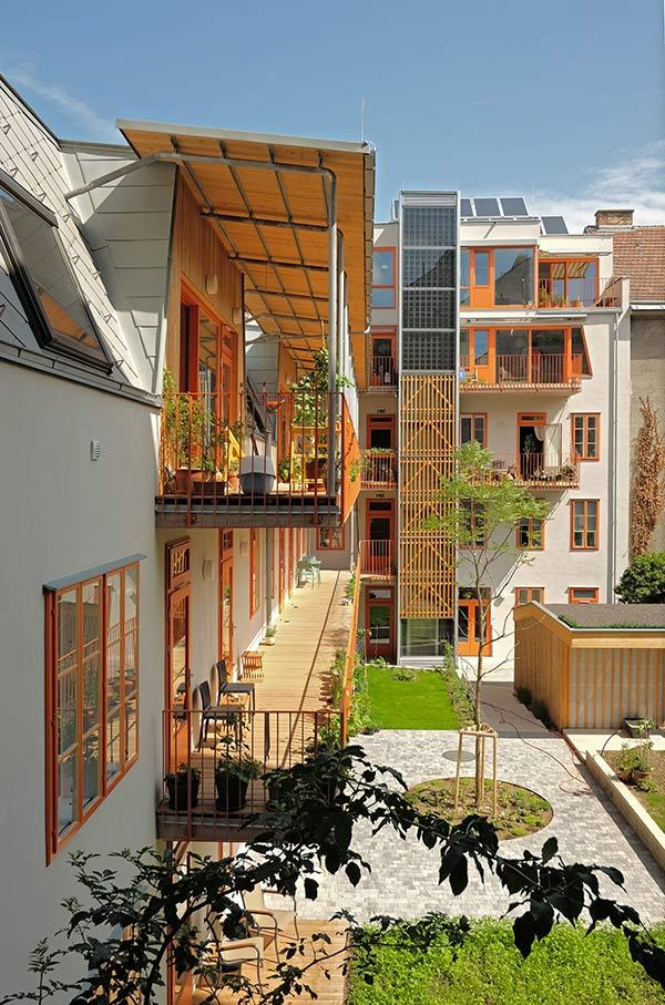 Smart Block Geblergasse, Open House Wien