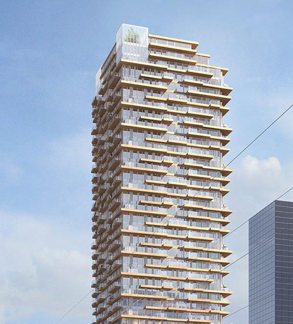 Glashäuser, Tree House Rotterdam, PLP Architecture