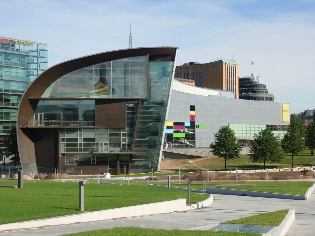 Kiasma Modern Art Museum von Steven Holl Architects