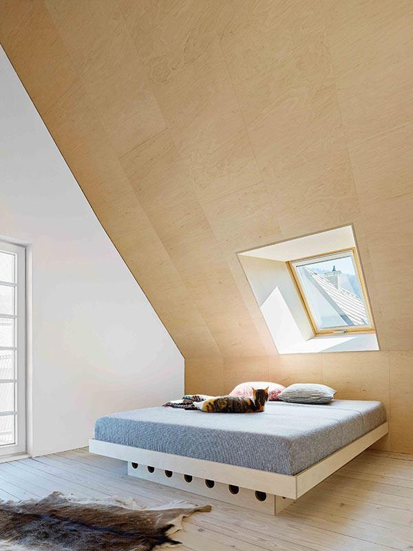 Schlafzimmer, Villa Fleisch, Dornbirn, ARSP