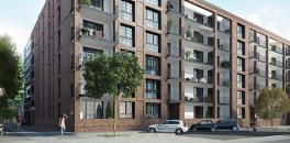 """Meilenstein für """"The Brick"""" in Hamburg-Ottensen: Urbanes Wohnprojekt mit 101 Einheiten feiert Richtfest"""