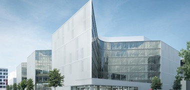UBM celebrates topping-out ceremony of the future Zalando headquarters in Berlin