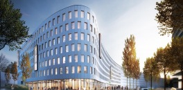 The largest Holiday Inn Express in continental Europe is being built in Düsseldorf