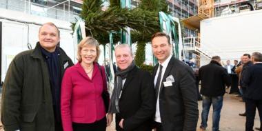 Richtfest für Hotelprojekt in der Hamburger Eiffestraße