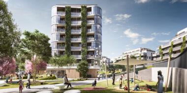 UBM začíná předprodej první stovky bytů v projektu Arcus City. Nový projekt ve Stodůlkách spojuje život ve městě s blízkostí přírody.