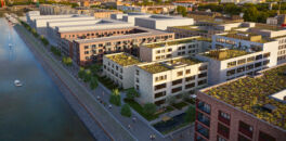 CA Immo and UBM Development start construction of the Kaufmannshof in the Zollhafen Mainz district