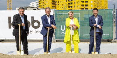 "Ground-breaking ceremony! The ""Nordbahnviertel"" continues to grow"